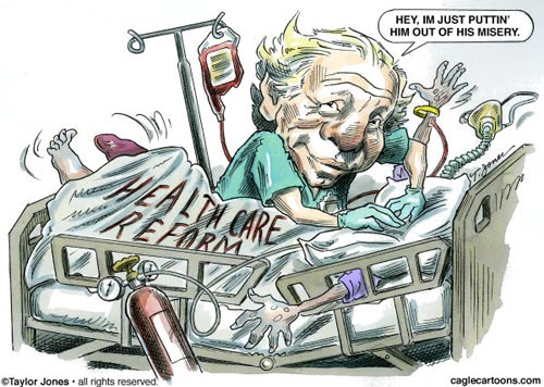 Joe Lieberman - Healthcare Lobby Whore