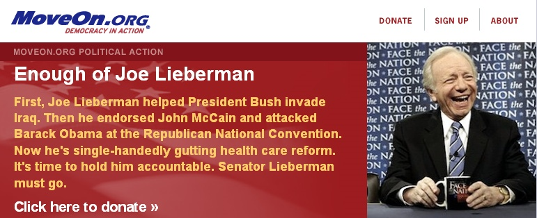 Getting Rid of Lieberman