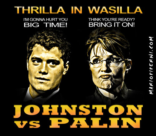 Palin vs Johnston