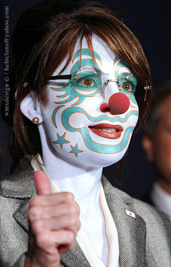 GOP Clown Sarah Palin