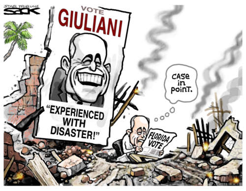 Disaster Rudy Giuliani