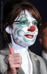 Sarah Palin Clown