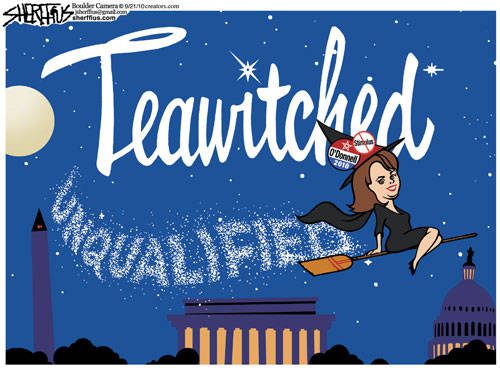 Christine O'Donnell in Teawitched!