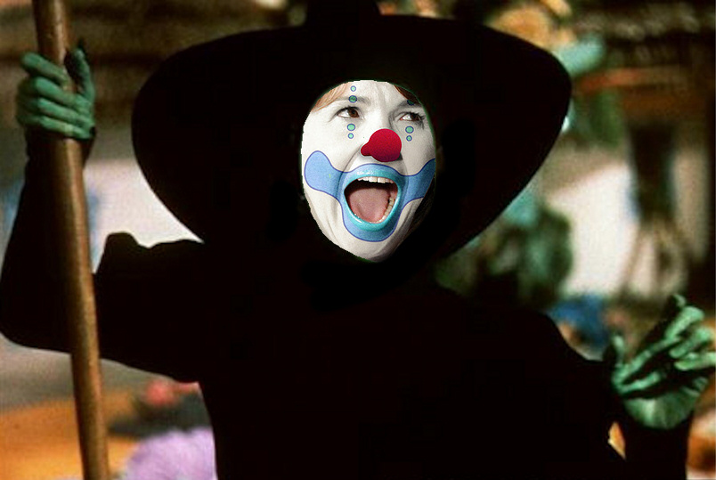 Clown Witch