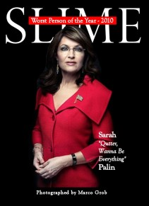 SLIME Worst Person 2010 - Sarah Palin