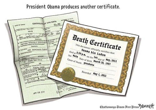 Bin Laden Death Certificate