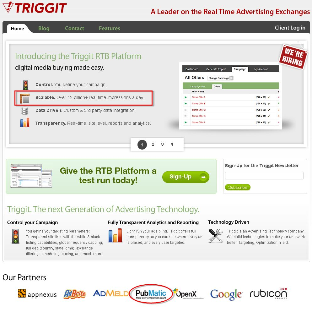 Trigget Website
